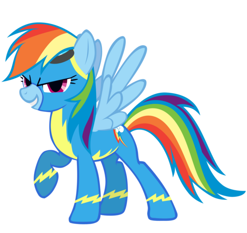 File:Rainbow Dash as a Wonderbolt.png