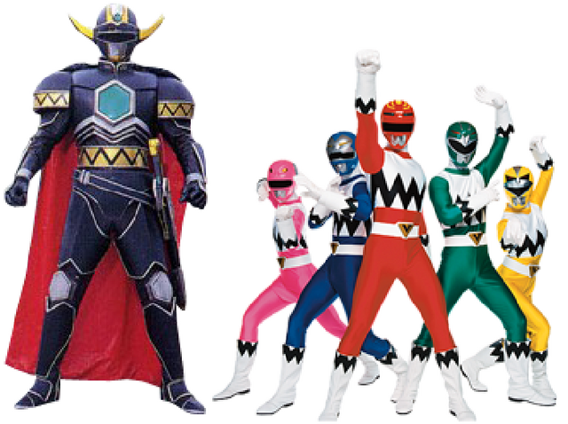 File:The Galaxy Rangers and Magna Defender.png