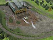 The Steamworks with Zecora's hut