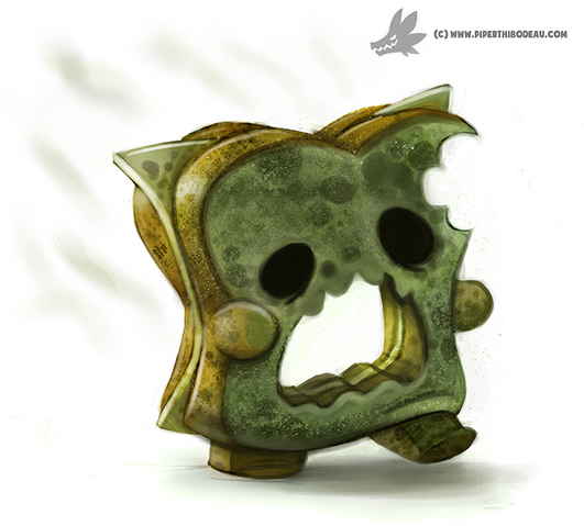 File:Daily painting 947 mold zombie og by cryptid creations-d8ys070.png