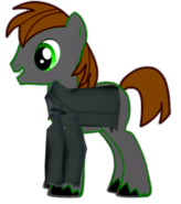Stephen Hatt as a pony