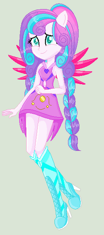 File:Flurry Heart in her Crystal Anthro Form.png