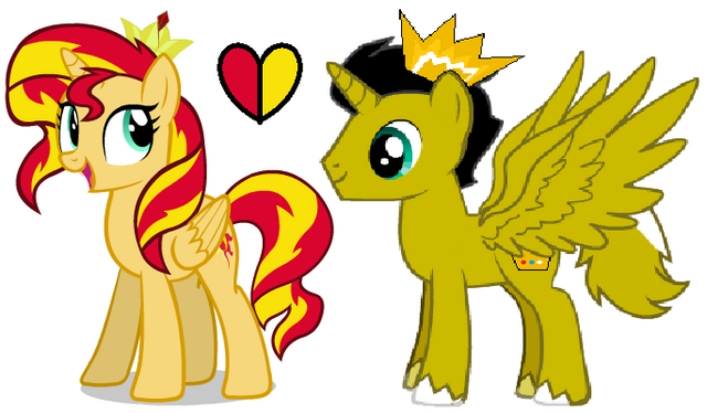 File:Sunset Shimmer and Stephen.png