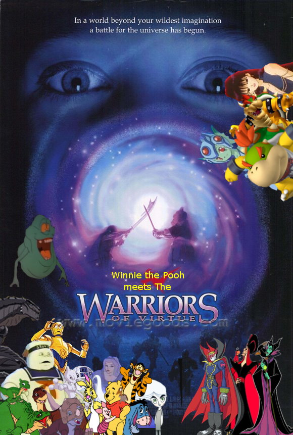 Winnie the Pooh Meets The Warriors of Vertue poster (version 2)