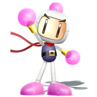 Smashified style bomberman render of 1 4 by nibroc rock-d95punh