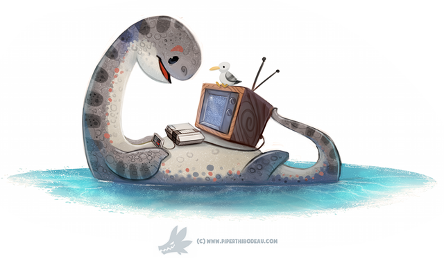 File:Daily paint 1285 nessie by cryptid creations-da4a7ro.png