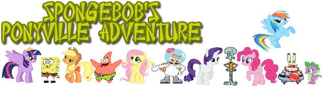 File:SpongeBob's Ponyville Adventure Poster.png