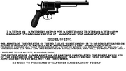 Hastings handcannon black and white