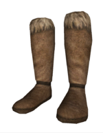 Hide boots a