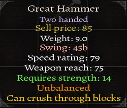 Great Hammer