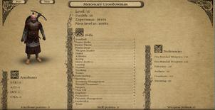 Mercenary Crossbowman