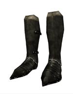 Narf steel greaves black