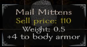 Mail Mittens Stats