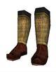Lamellar boots a