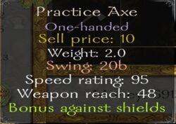 Practiceaxeinfo