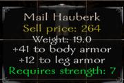 Mail Hauberk Stats