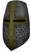 Reinforced great helm
