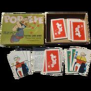 Popeye Playing Card Game