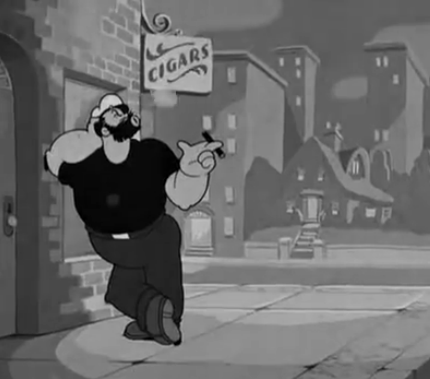 File:Bluto with a cigar.png