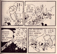 Popeye in the Son Goku the Monkey Manga