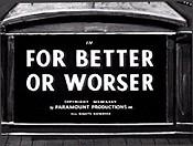 Better worser