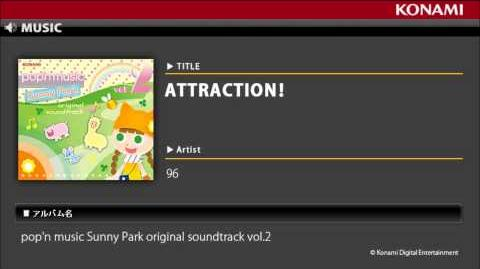 ATTRACTION! pop'n music Sunny Park original soundtrack vol