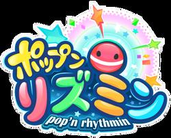 Pop'n Rhythmin logo