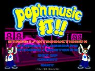 Pop'n Music Da Main Menu