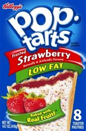 Low Fat Frosted Strawberry