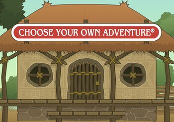 Choose Your Own Adventure Hut