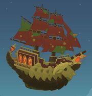 Captain Crawfish's Ship