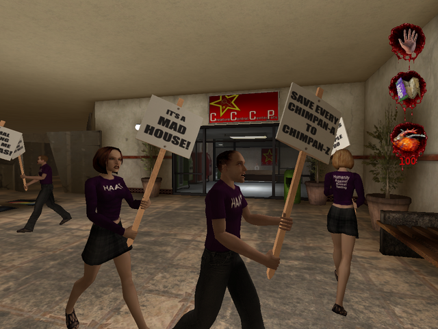 Plik:HAAT protesters outside Creature Control Center and Pets.PNG