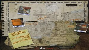 Thursday Map (Paradise Lost)