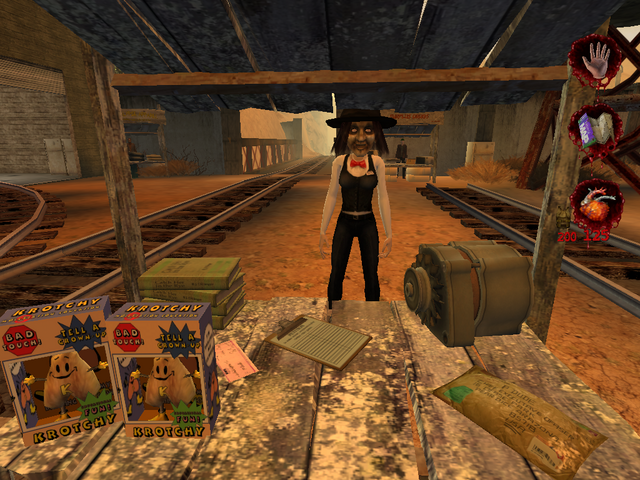 Plik:Woman selling items related to errands from Postal 2 001.PNG
