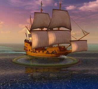 Neptunes Disgrace Refit Galleon