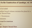 On the Construction of Lineships, vol. III