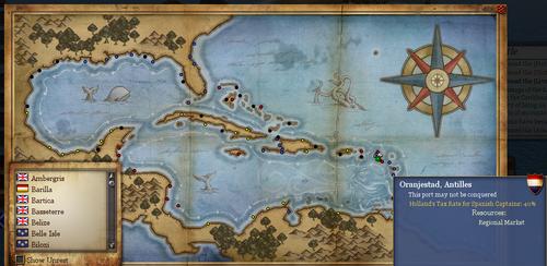 Oranjestad Map