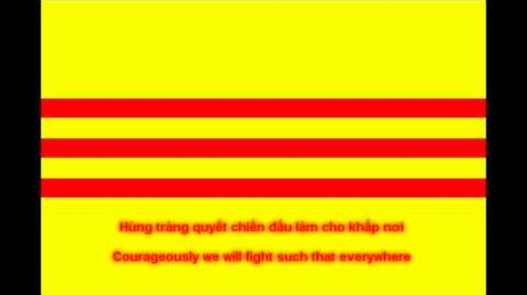 National Anthem of South Vietnam (with lyrics)
