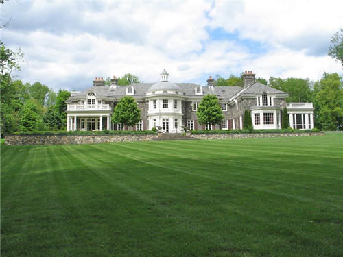 Image 33 Million Georgian Stone Mansion In Chappaqua New
