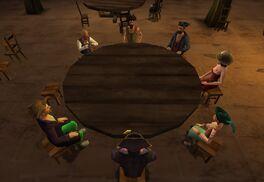 Capt. Skull X playing Poker