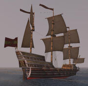 Francis Bluehawk's ship
