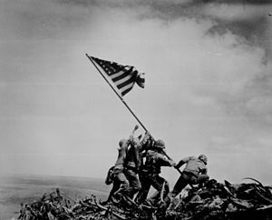 File:300px-WW2 Iwo Jima flag raising.jpg