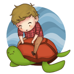 File:Liam and turtle.png