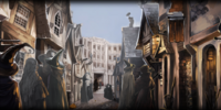 Arriving at Diagon Alley