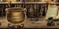 Brass Cauldron