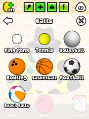 Pou balls