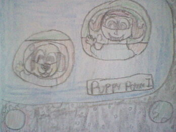 Whopper and Holly in Space