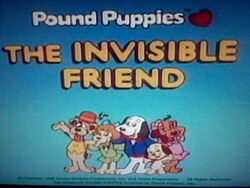 Title Screen for Invisible Friend