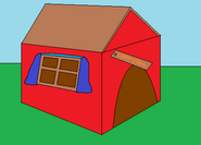 Chew Chew's dog house