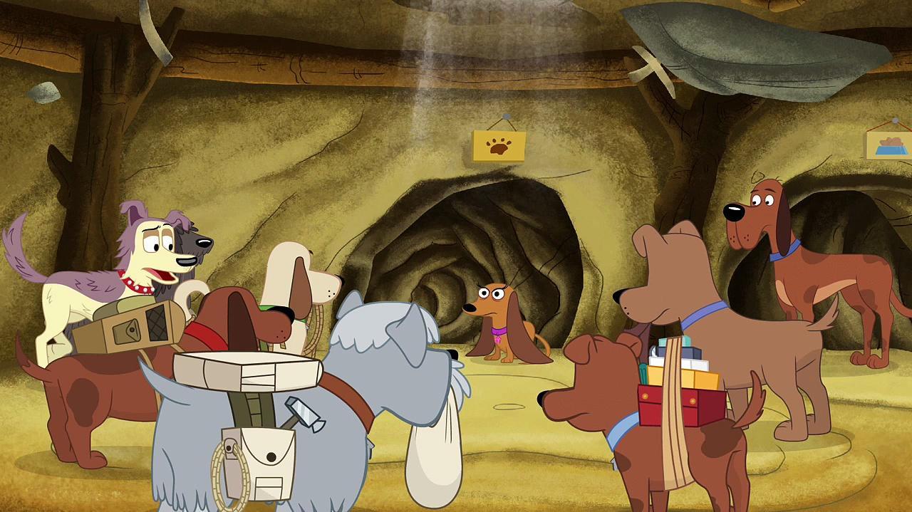 Pound Puppies Season 01 Episode 10 Dog On a Wire (HD 720p)